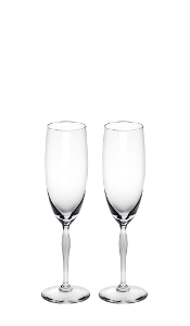 Champagnerflute, 2er Set, 100 Points